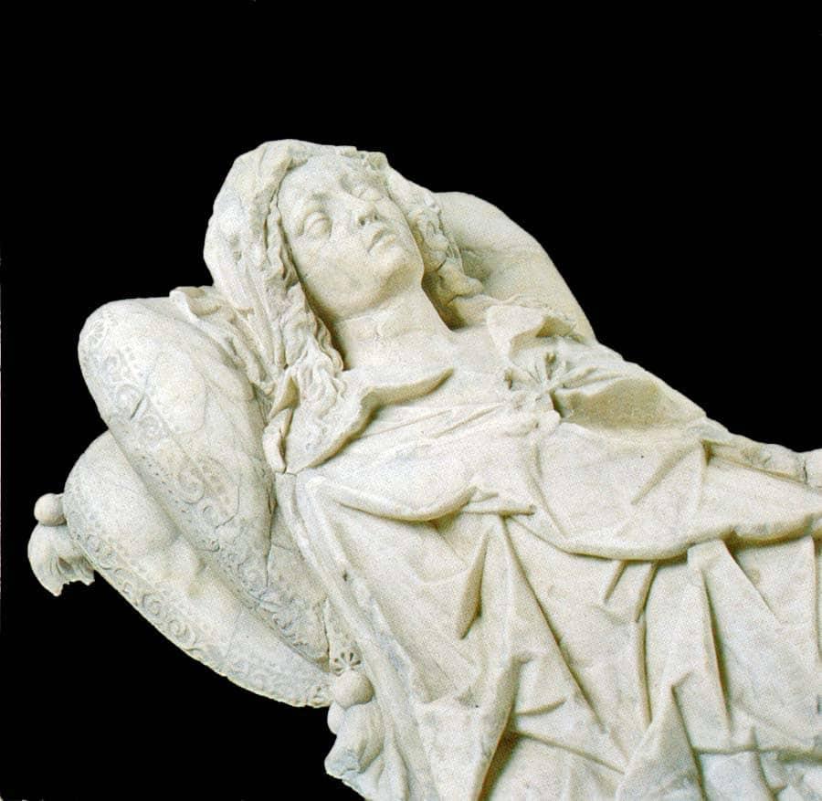 Graftombe Wilhelmina van Arckel in de Grote Kerk te Gorinchem
