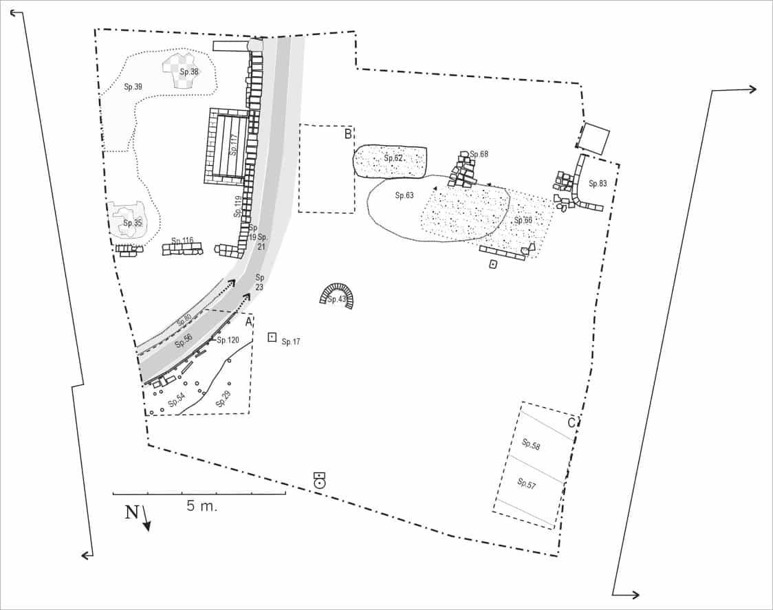 Oudste sporen voor 1841 onder de synagoge archeologisch onderzoek naar voormalige synagoge aan de Kwekelstraat te Gorinchem in 2000.