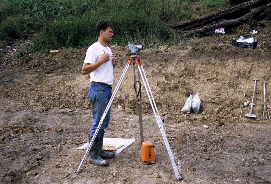 Archeologen doen unieke vondst, kasteel heren van Arkel in het Wijdschild te Gorinchem
