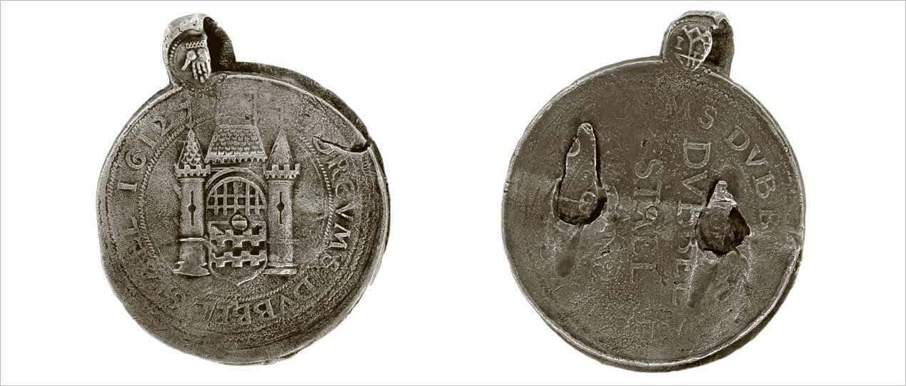 Groot lakenzegel Gorinchem 1612