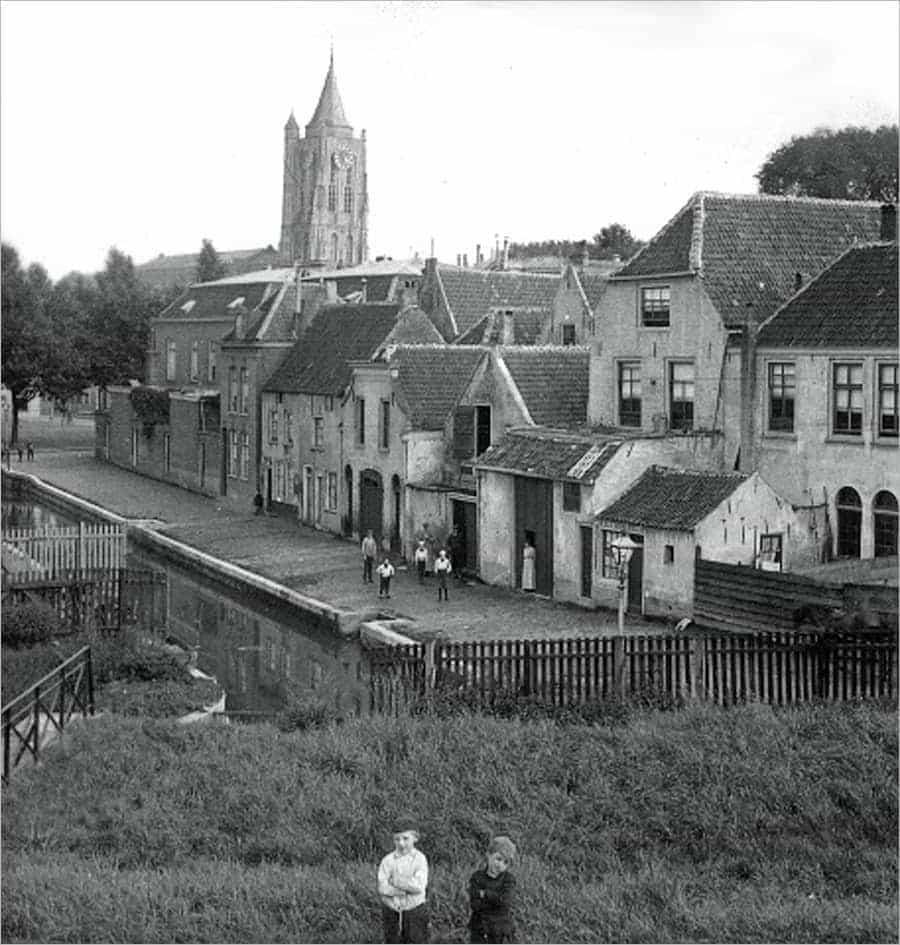 Melkheul in Gorinchem 1910