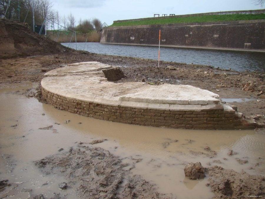 Archeologisch onderzoek Buiten de Waterpoort, Gorinchem, 17 maart 2017