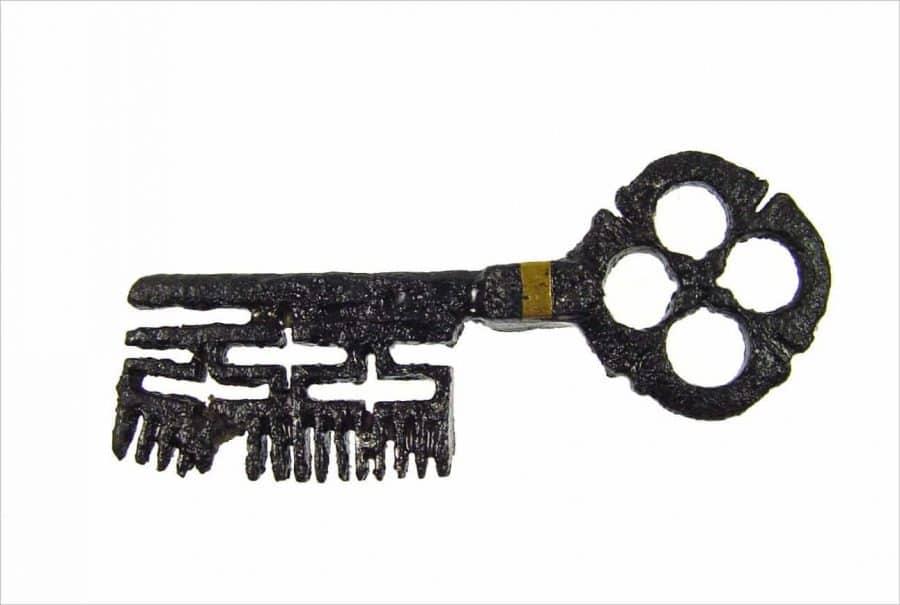 Sleutel, vermoedelijk van een kist