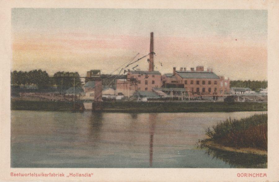 Suikerfabriek Gorinchem, begin 20ste eeuw