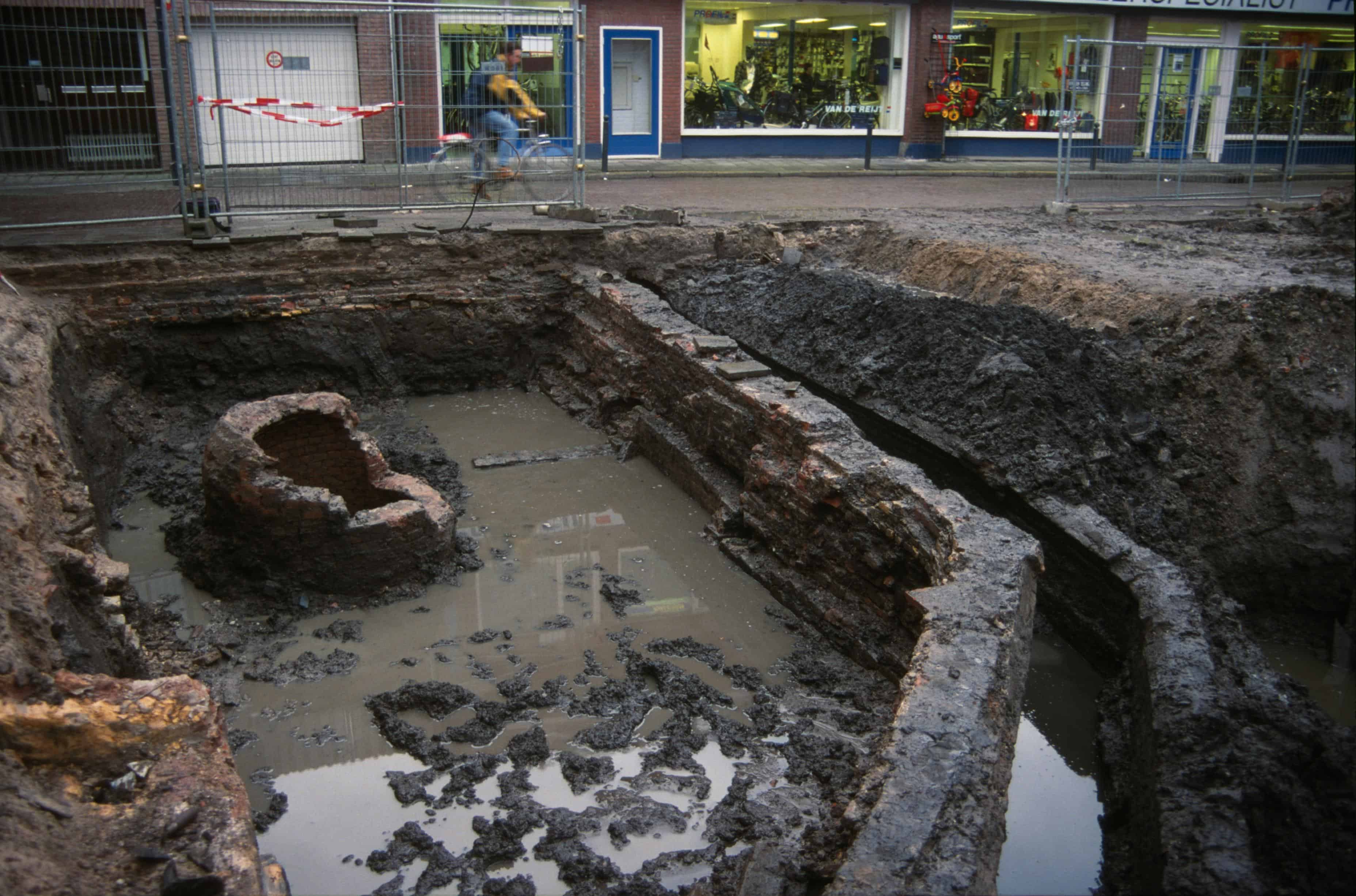 Opgraving Kekelstraat synagoge Gorinchem 2000