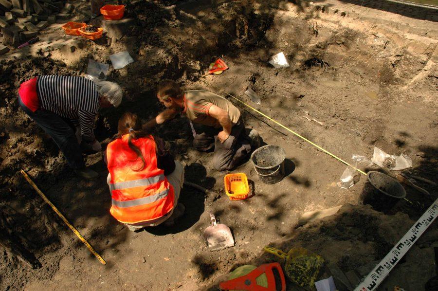 Wroeten in de Gorcumse klei: archeologen brengen botten in kaart