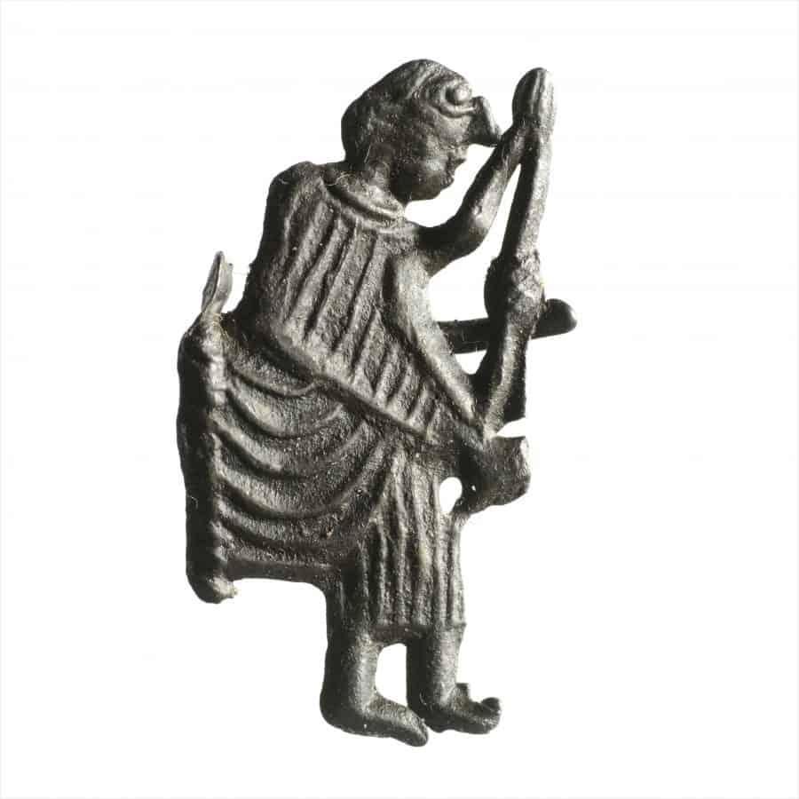Middeleeuws insigne opgraving bluebandhuis Gorinchem