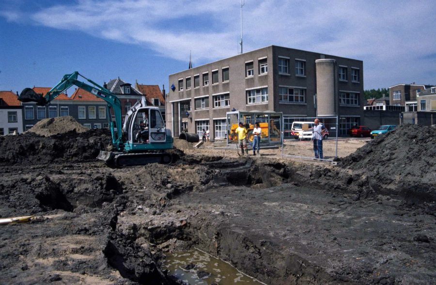 Archeologisch onderzoek Kazerneplein