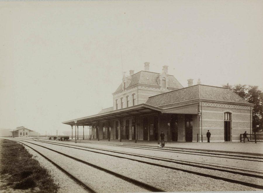 Station Gorinchem ca 1900, collectie Regionaal Archief Gorinchem