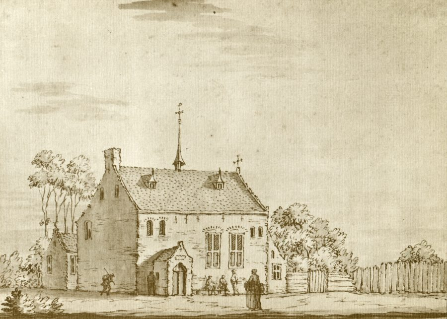 Pesthuis in Gorkum, Jacobus Stellingwerf (1603), collectie onbekend.