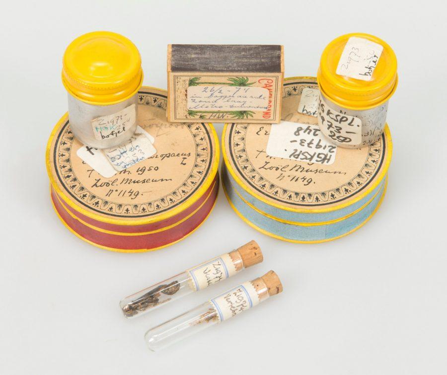 Verpakkingen van vondsten uit het verleden