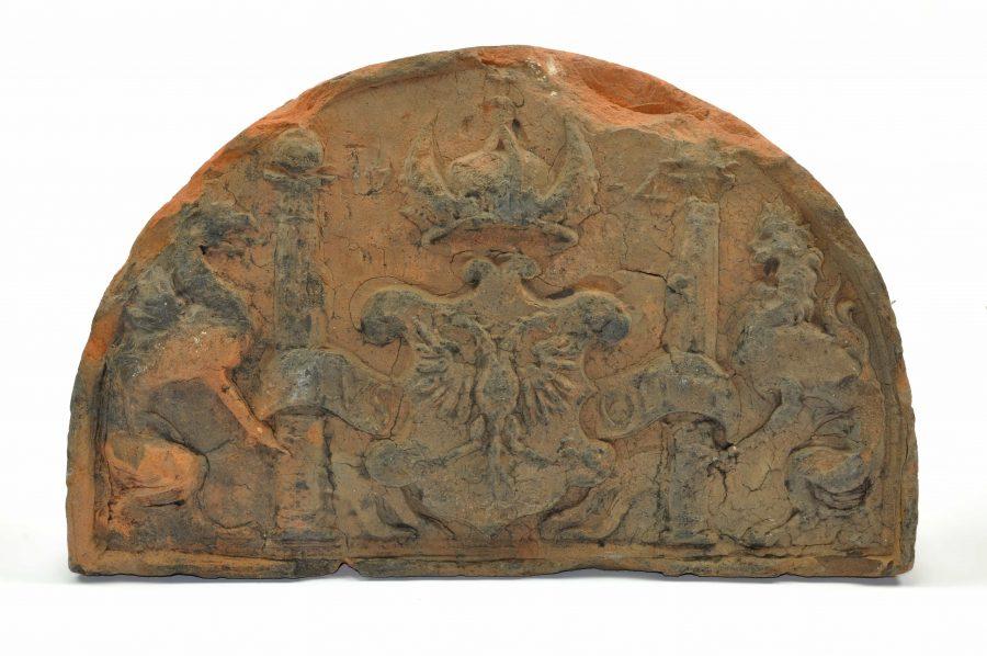 Haardsteen, deksteen Karel V