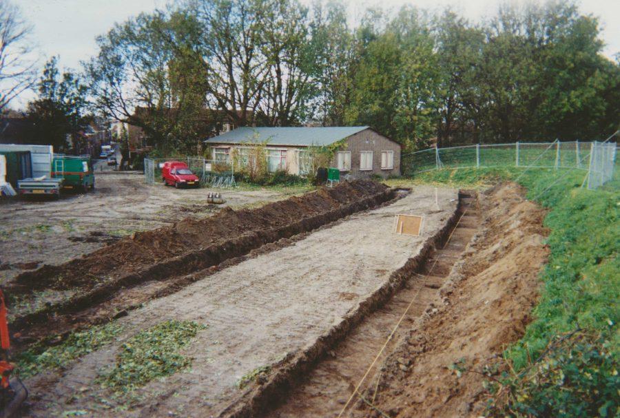 Bastion 9 Dalemwal Gorinchem archeologische begeleiding 2002