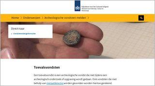 Homepage ToevalsvondstenRCE