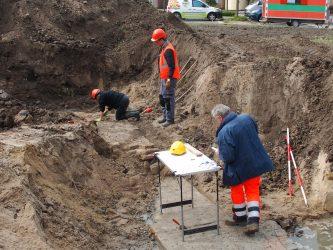 Opgraving plangebied Bagijnenwal 2 juni gestart