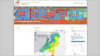 Homepage Actueel Hoogte Bestand Nederland