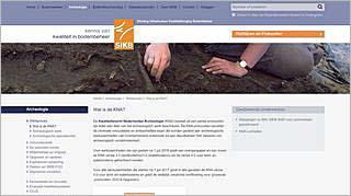 Homepage Kwaliteitsnorm Nederlandse Archeologie (KNA)