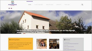 Homepage Archeologiehuis Zuid-Holland