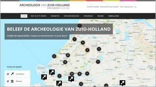 Beleef de archeologie van Zuid-Holland
