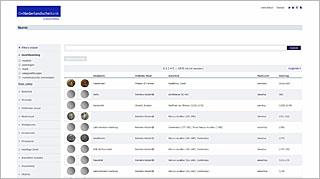 Homepage Numis databank