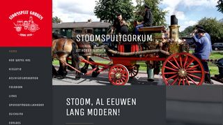 Homepage Stichting Stoomspuit Gorkum