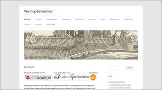 Homepage Werkgroep Vesting Gorinchem