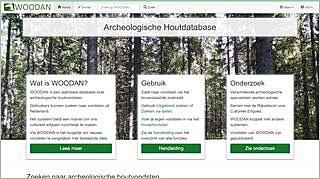 Homepage WOODAN Archeologische Houtdatabase
