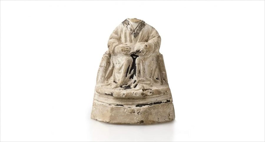 Heiligenbeeld gevonden in Edam, collectie H.J.E. van Beuningen