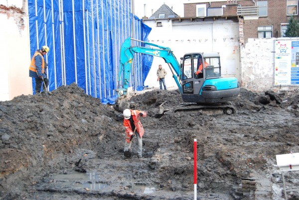 Opgraving Nieuwstad 7a t/m d (2009)