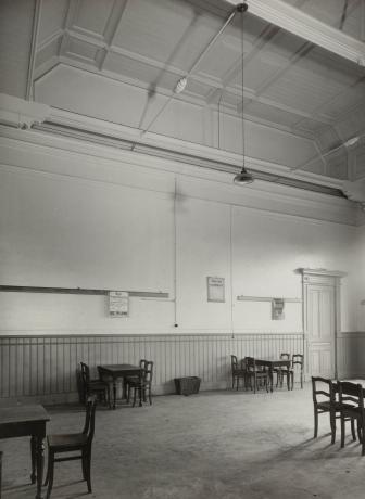 Station Gorinchem, wachtruimte derde klas