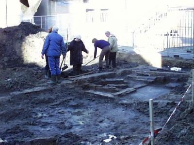 Opgraving synagoge Kwekelstraat Gorinchem (2000)